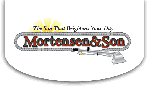 Mortensen and Son carpet cleaning business logo